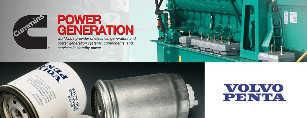 محصولات برقی volvo و power generation