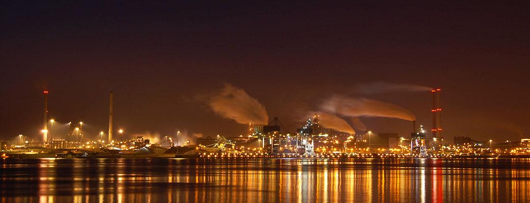 عکسی از نیروگاه برق